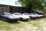 Collection of 6 1963 Split Window Corvettes