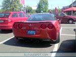 The Corvette ZR1 at a German McDonalds