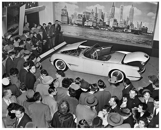XP-122 at the 1953 Motorama
