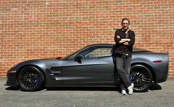 Corvette Values: Corvettes on eBay: Tim Allen's 2009 Corvette ZR1