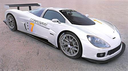 Conceptualized Mid Engine Corvette Evo C7R