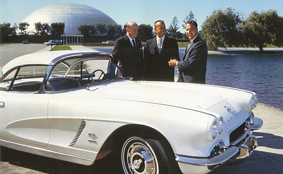 Corvettes and Astronauts Celebrate 50 Years Together