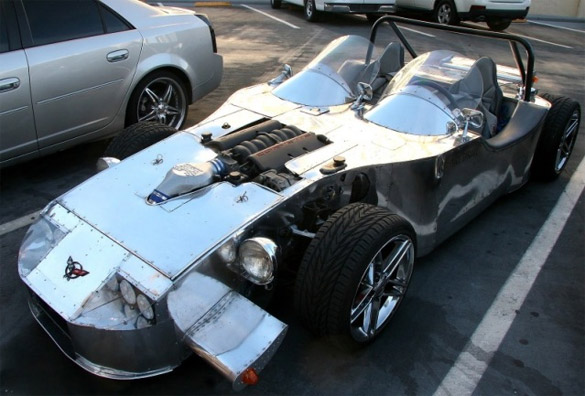 Corvette Picture of the Day: Sheet-Metaled C5 Speedster