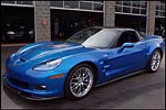 2009 Corvette ZR1 for sale at Mecum's Indy Auction