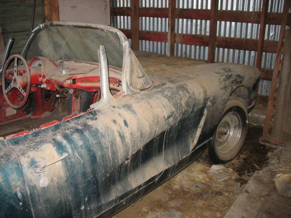 Barn Find: 1960 Corvette Roadster