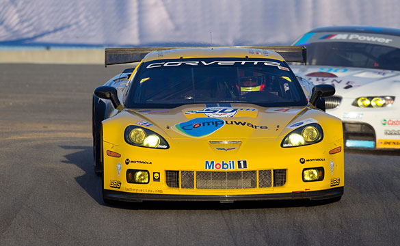 Corvette Racing: Corvette C6.Rs Qualify 3 & 4 for ALMS Monterey