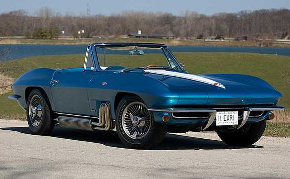Reminder: Harley Earl's Corvette Auction to Be Televised on Discovery Saturday Afternoon