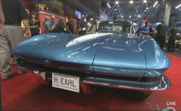 Harley Earl's 1963 Corvette Sells for $925,000