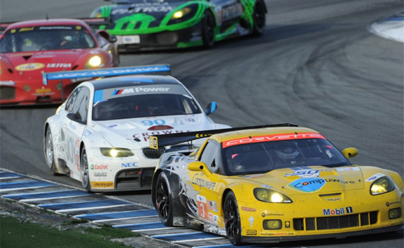 Corvette C6.Rs Finish 3rd and 6th at ALMS Monterey