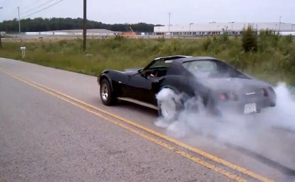 [VIDEO] Monday Morning C3 Corvette Burnout