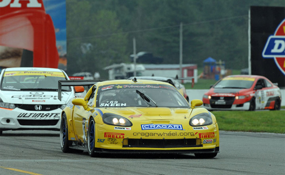 World Challenge: Corvette Finishes First in Rounds Five and Six
