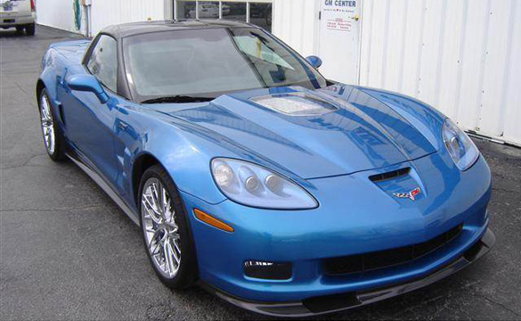 Corvettes on eBay: First 2010 Corvette ZR1 VIN 0001