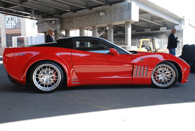 Karvajals Corvette ZX 1 Corvette Widebody Conversion