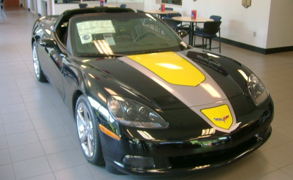 Friday's Featured Corvette For Sale: #18 2009 GT1 Championship Edition Coupe