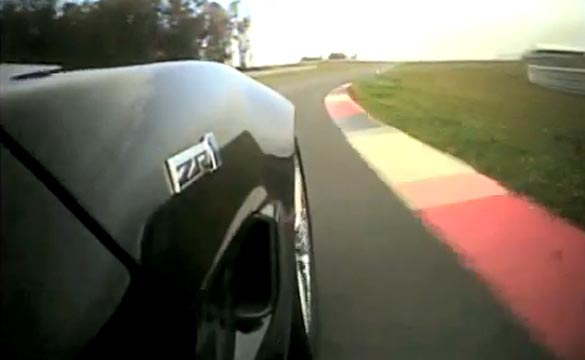 Jeff Gordon Drives a Corvette ZR1 around the Monticello Motor Club