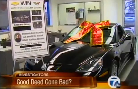 Corvette ZR1 Raffle to Benefit Fallen Taylor MI Police Officer Goes Bad for Dealer