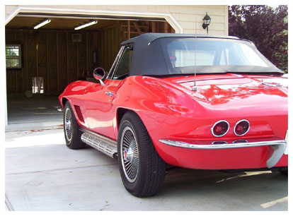Little Red Corvette. Baby You're Much Too Fast!