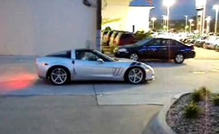 2010 Corvette Grand Sport Launch Control Tested in Dealer's Lot