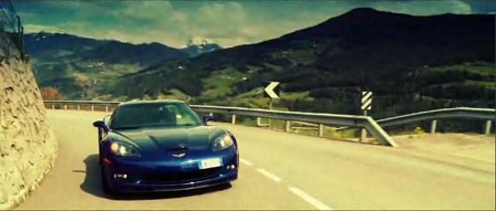 LeMans Blue Corvette Z06 in Italy