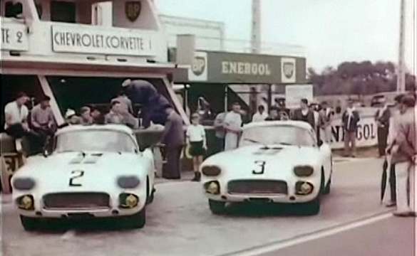 Rare 1960 GM Film Documents Corvette's First Visit to Le Mans