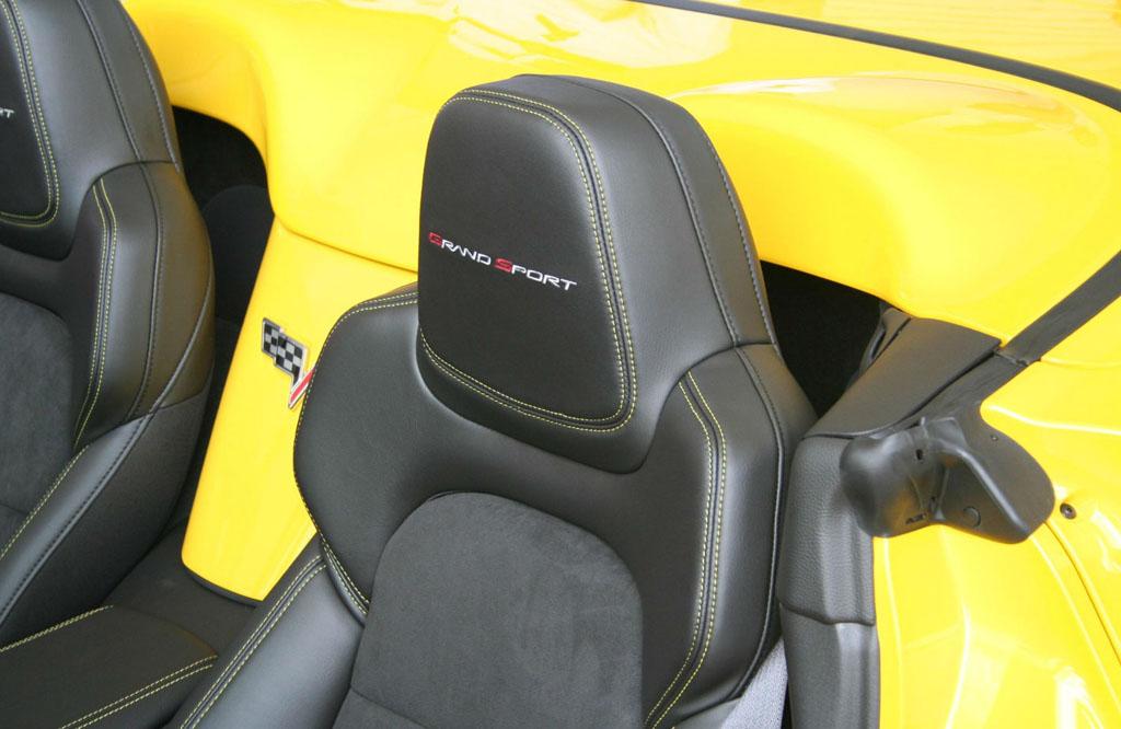 Pics The New 4lt Interior In A 2012 Corvette Grand Sport Corvette Sales News Lifestyle