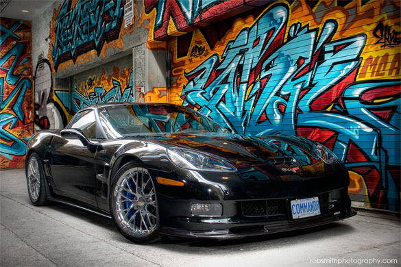 [PIC] Corvette ZR1 Stars in Professional Photo Shoot