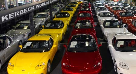 Corvettes for Sale at Kerbeck Chevrolet