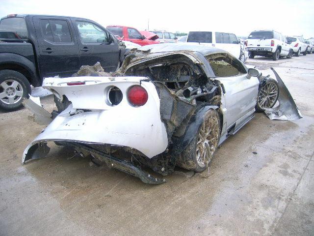 This Won't Buff Out: 2010 Corvette ZR1 Salvage Car