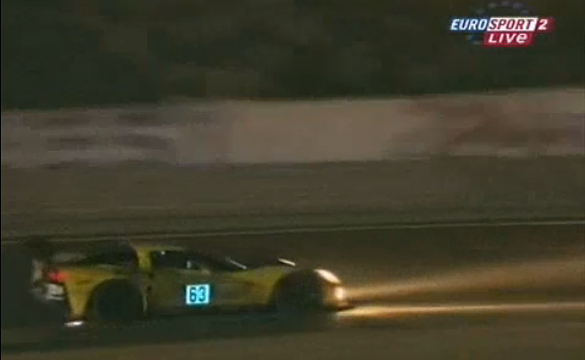 2008 Le Mans Flashback: Night Practice On Board the Corvette C6.R