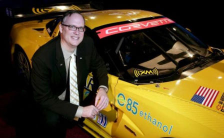 Chevrolet's Ed Peper and the C6.R Corvette