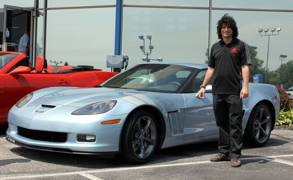 [PIC] 2012 Carlisle Blue Corvette Grand Sport Coupe