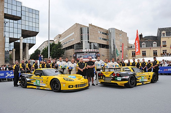 2011 Le Mans: Corvettes at Scrutineering and other Links