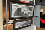 GM's Corvette Studio Artwork Become Framed Objects of Desire
