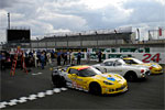 Corvette C6.Rs Undergo Scrutineering