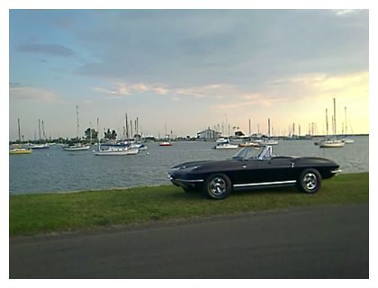 1966 Corvette on Davis Islands
