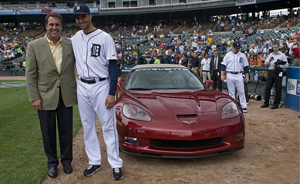 Study Shows Corvette Gift to Pitcher Nets GM $9 million in Media Exposure