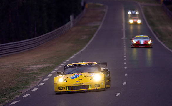 Corvette Racing Fourth and Fifth in Provisional Le Mans Qualifying