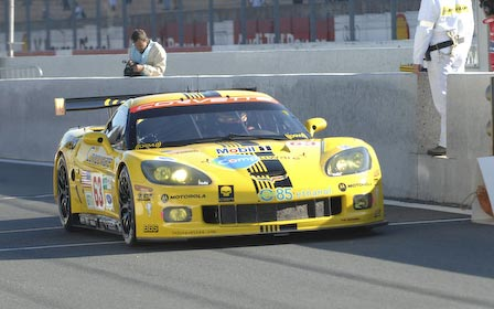 #63 Corvette C6.R at Le Mans