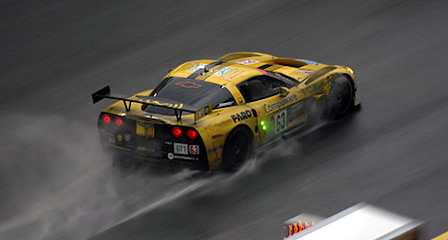 #63 Corvette C6.R at the 24 Hours of Le Mans