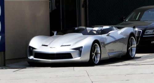 Transformers Corvette Stingray Concept Goes Topless
