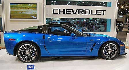 The 6.2L Supercharged Corvette ZR1