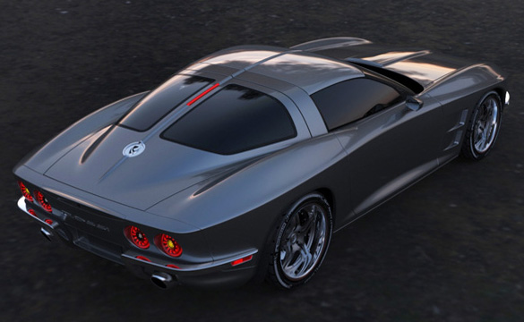 Rossi SixtySix Fuses Classic Corvette Sting Ray Looks with C6 Technology