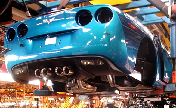 Corvette Assembly Plant to Forgo Annual Summer Shutdown