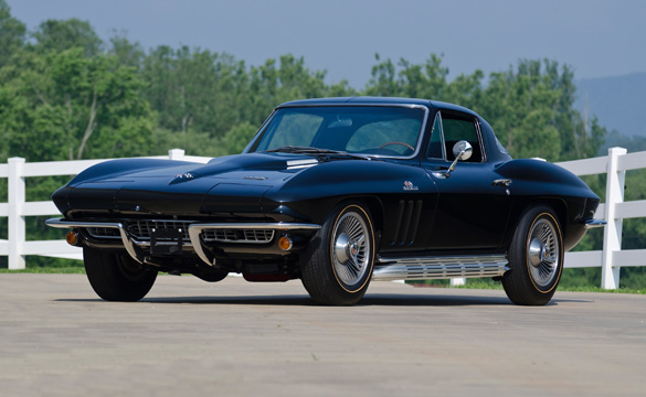 Black Corvette Collection To Be Sold At Mecum's Bloomington Gold Auction