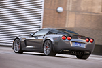 The 2009 Corvette Z06 in Cyber Gray Metallic