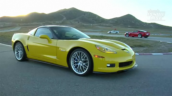 dmunds Compares 2011 Corvette Z06 Carbon vs 2010 Grand Sport and 2002 Z06