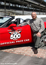 Colin Powell and the 2005 Indianapolis Pace Car
