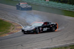 Hot Racing Action Features Corvette on Fire!