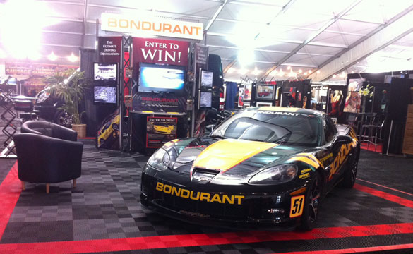 [PICS] Bondurant Display at Barrett-Jackson Orange County