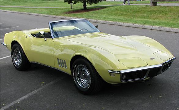 Barrett-Jackson OC 2010: 1968 L79 Corvette Convertible